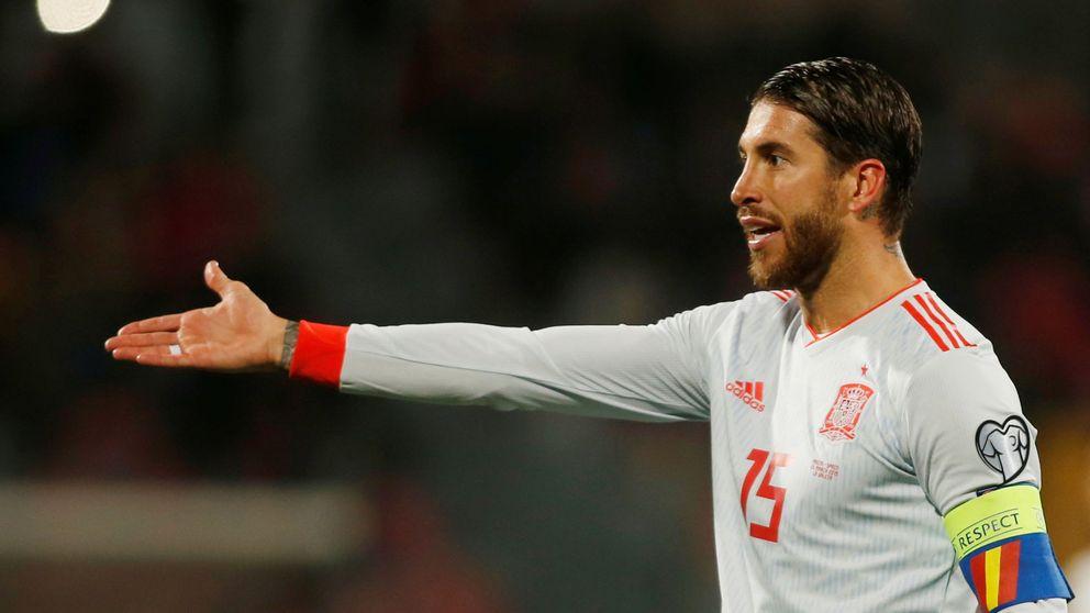 Ni olvido ni perdón: Malta abuchea a Sergio Ramos por su episodio con Salah