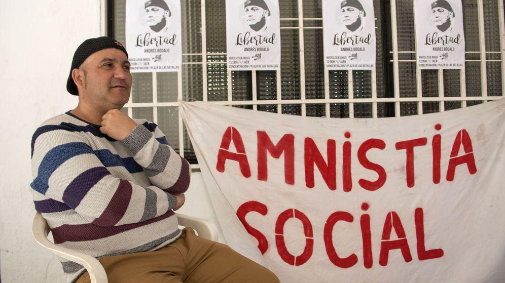 Foto: El concejal de Jaén en Común (JeC) Andrés Bódalo. (EFE)