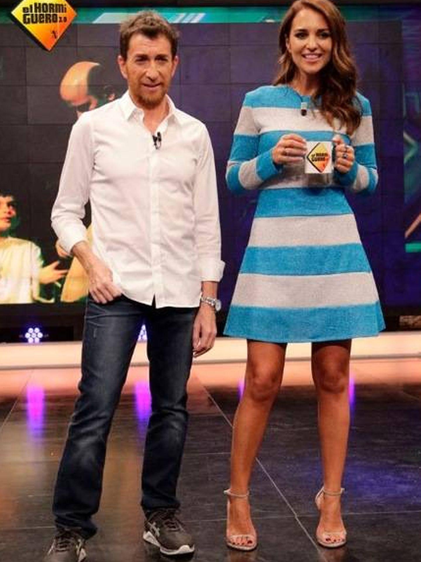 Pablo Motos y Paula Echevarría. (Antena 3)