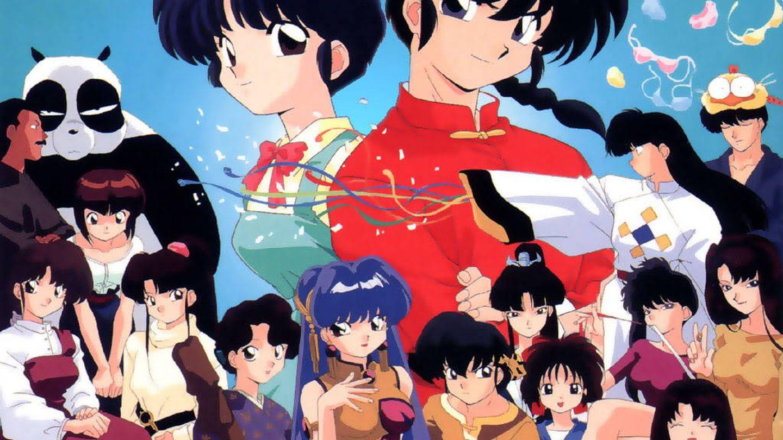 El popular anime 'Ranma 1/2' presentaba una versión 'light' del Futanari.