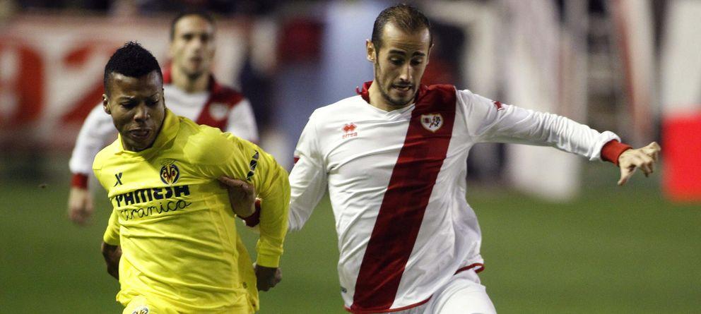 Foto: Gálvez, en un partido ante el Villarreal (Efe).