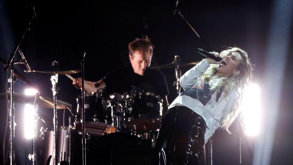 Foto: Miley Cyrus durante el homenaje a Chris Cornell