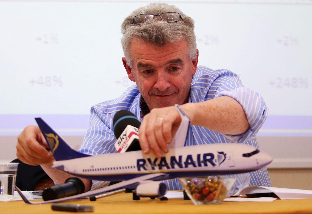 Foto: El consejero delegado de Ryanair, Michael O'Leary. (EFE)