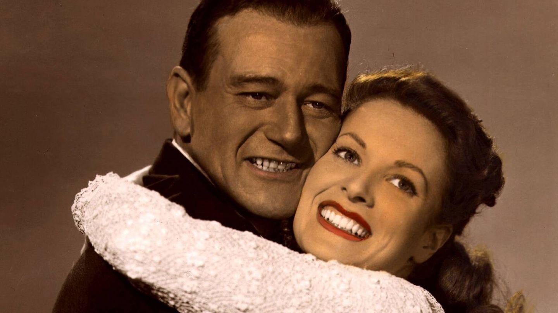 John Wayne y Maureen O'Hara. (Cordon Press)