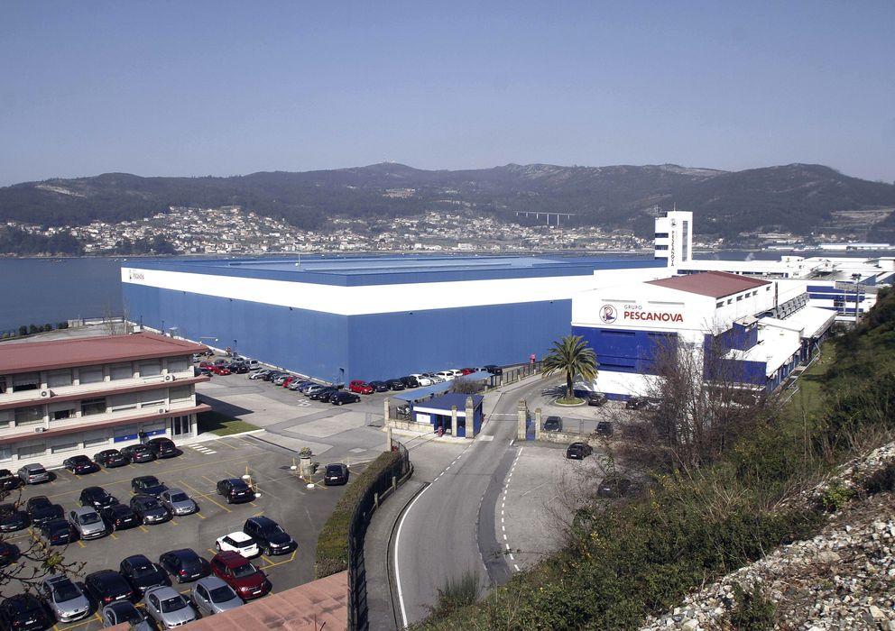 Foto: Sede central de Pescanova en Chapela. (EFE)