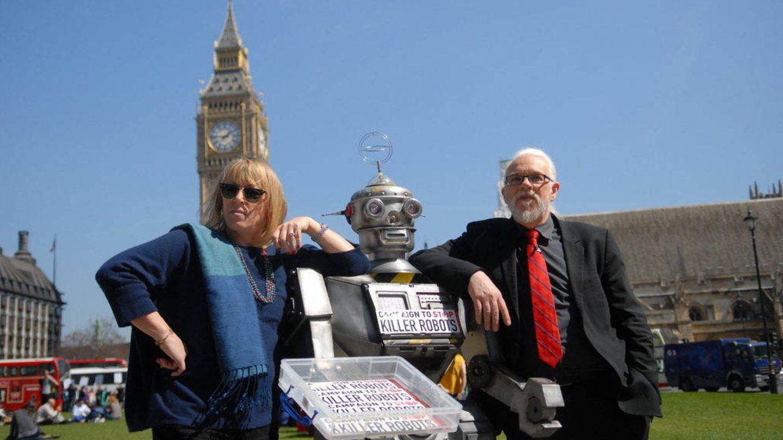 La coalición Stop Killer Robots reclama la prohibición total de las armas autónomas (Fuente: Stop Killer Robots)