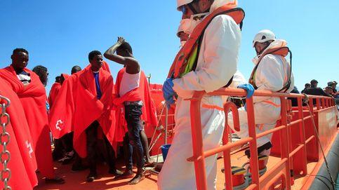 Rescatadas 269 personas y recuperados 2 cadáveres de 31 pateras en el Estrecho