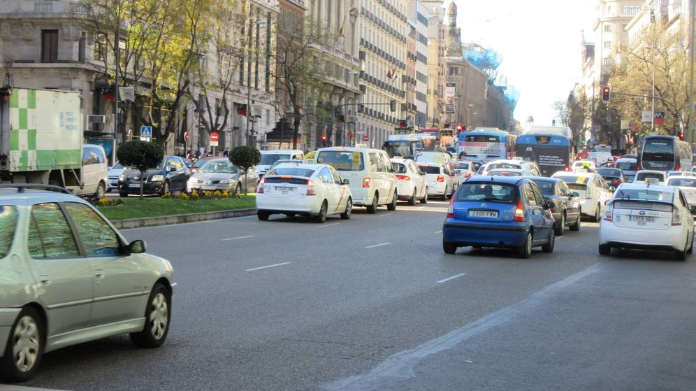 Foto: París, Madrid o Barcelona sufren graves problemas de atascos.