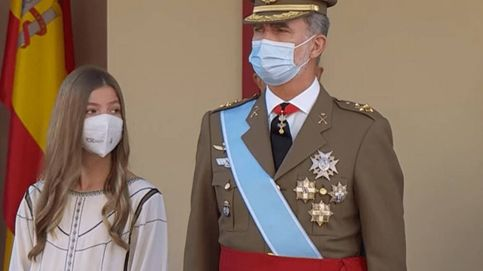 La infanta Sofía y su vestido hippy chic de 285 euros para el Día de la Hispanidad