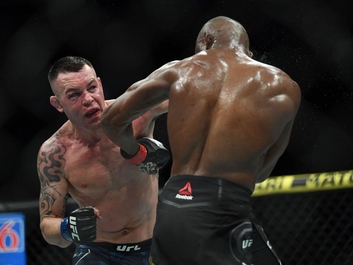 Foto: Colby Covington en UFC 245 (USA TODAY Sports)