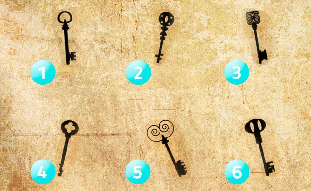 Foto: ¿Con qué llave abriría un baúl antiguo? (EC)