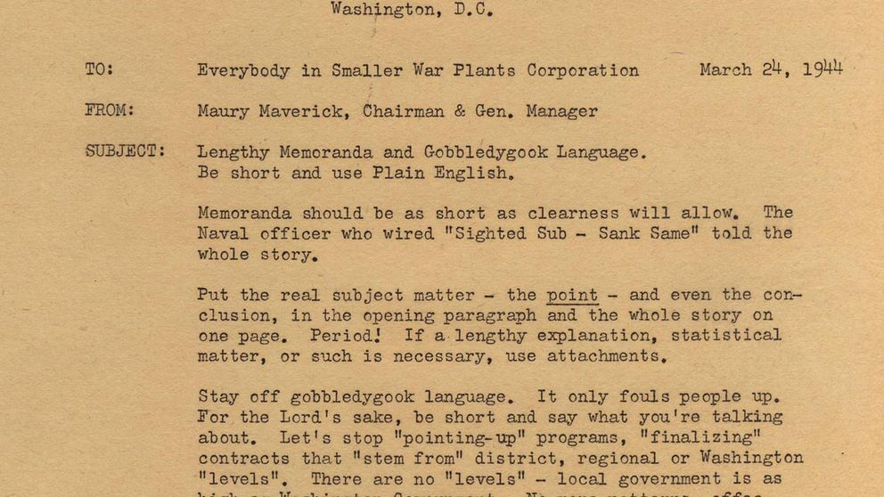 La foto viral de 1944 que muestra que la jerga estúpida siempre ha existido