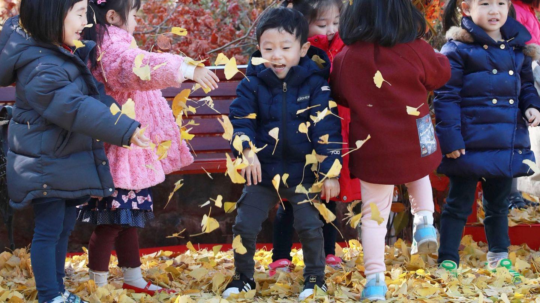 Niños en Corea del Sur. (EFE)