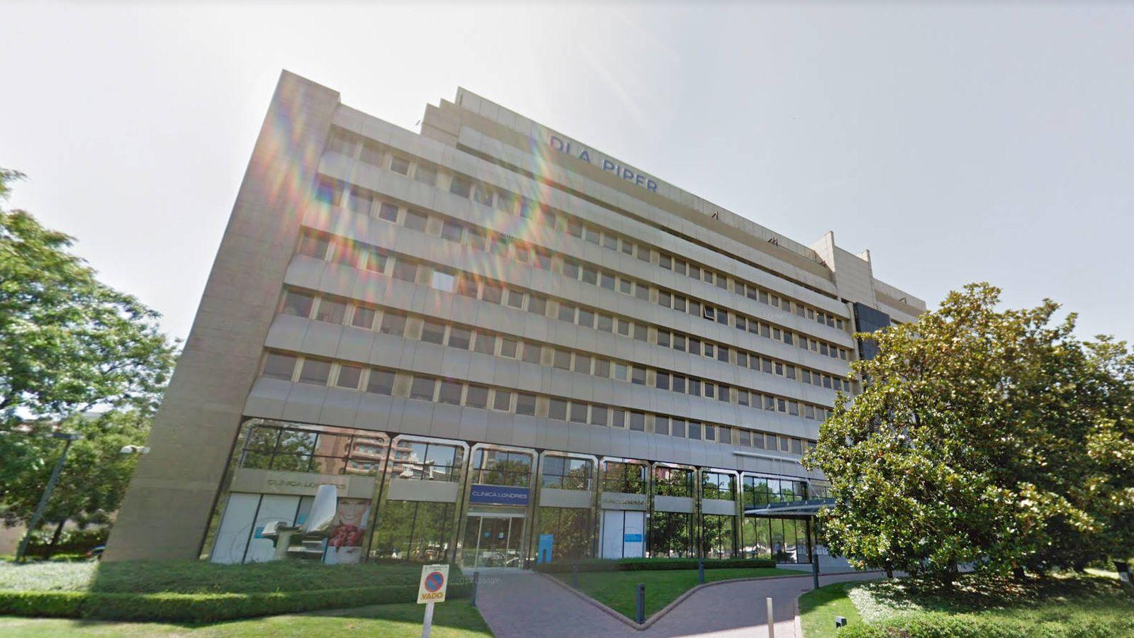 Foto: Exterior de la sede de DLA Piper en Madrid.