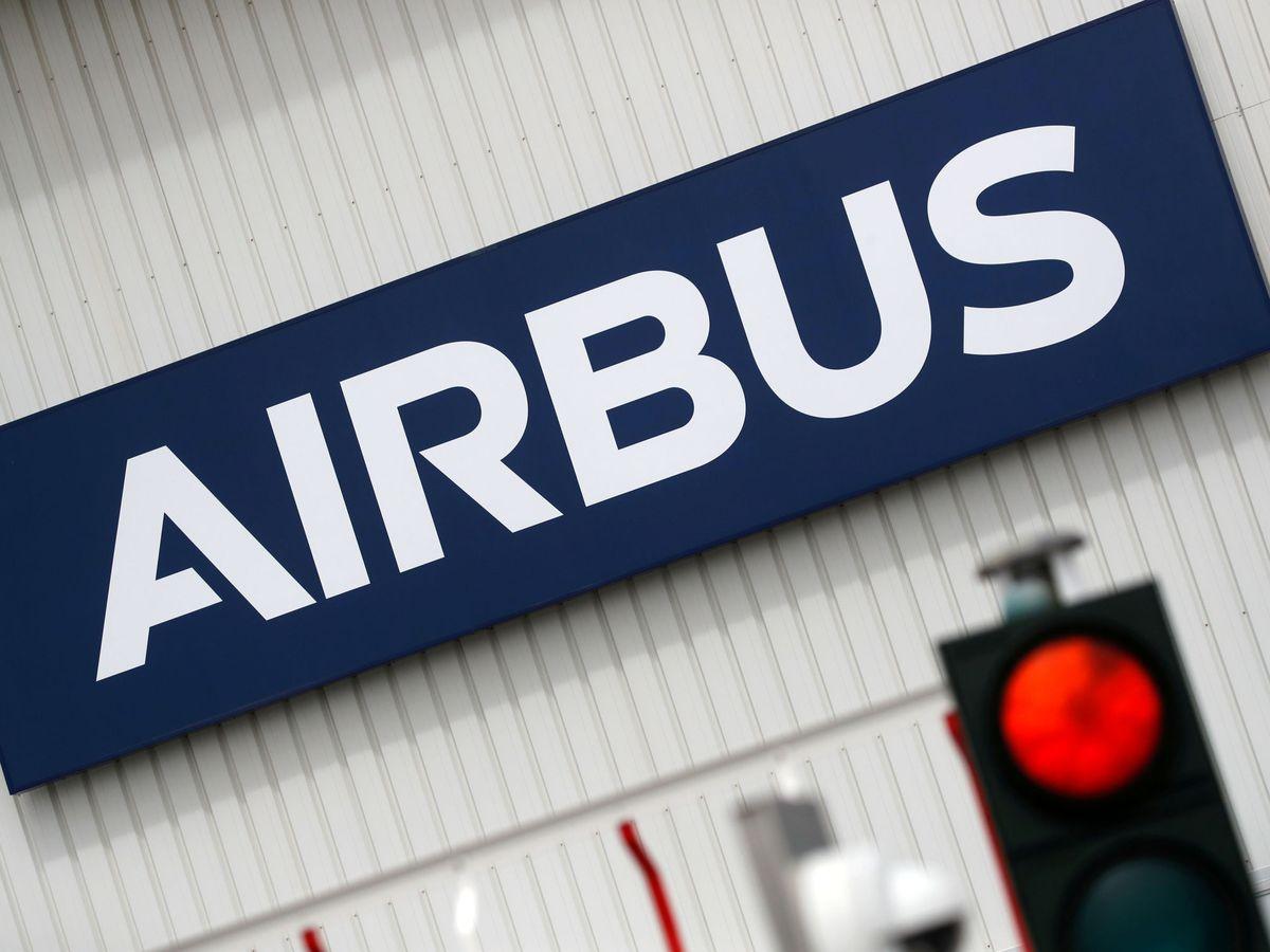 Foto: Logotipo de Airbus