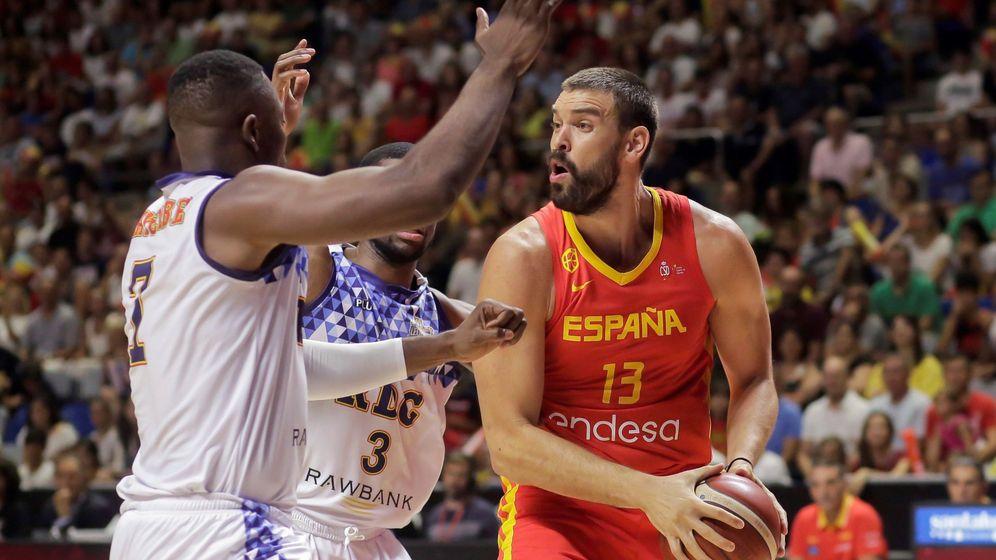 Foto: España – República Dominicana de Baloncesto: horario y dónde ver en TV (EFE)