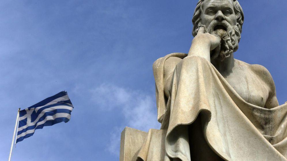 Foto: ¡Que viene el lobo! La deuda griega se dispara a niveles de default y sacude Europa