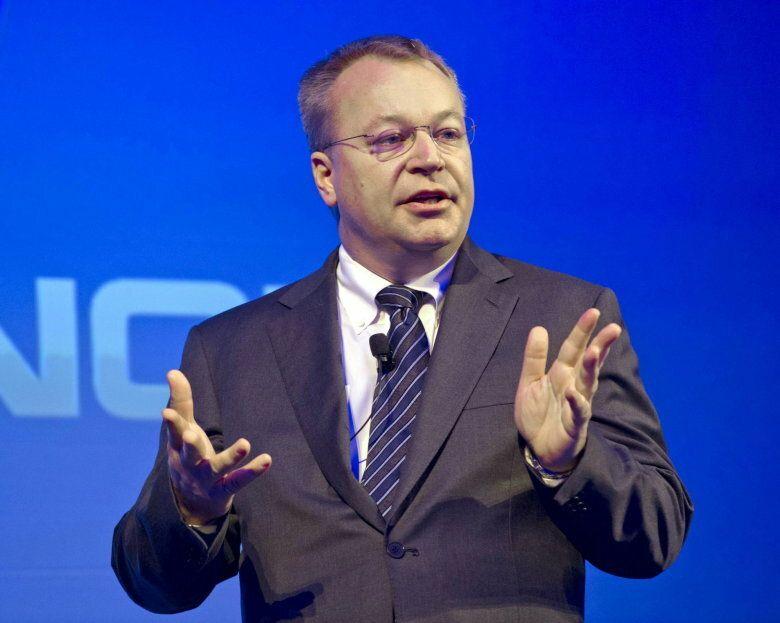 El presidente de Nokia, Stephen Elop. (Efe)