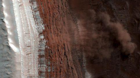 La salmuera descubierta en Marte contiene suficiente oxígeno para poder albergar vida