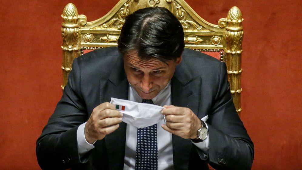 Foto: Italian senate debates measures to combat the spread of covid-19