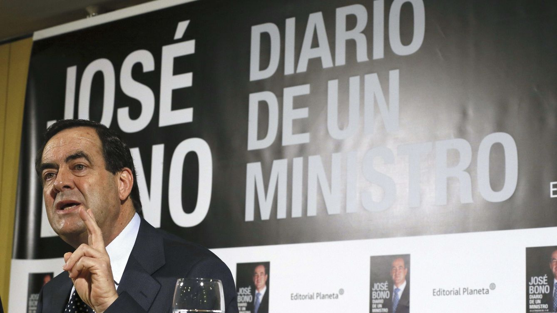 Foto: El exministro de Defensa, José Bono, ha presentado el segundo tomo de sus memorias esta semana (EFE).