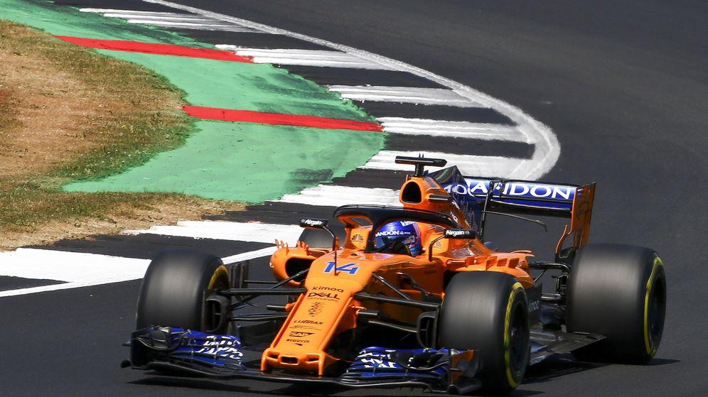 Foto: Fernando Alonso dijo que la de Silverstone es la mejor clasificación de la temporada. (EFE)