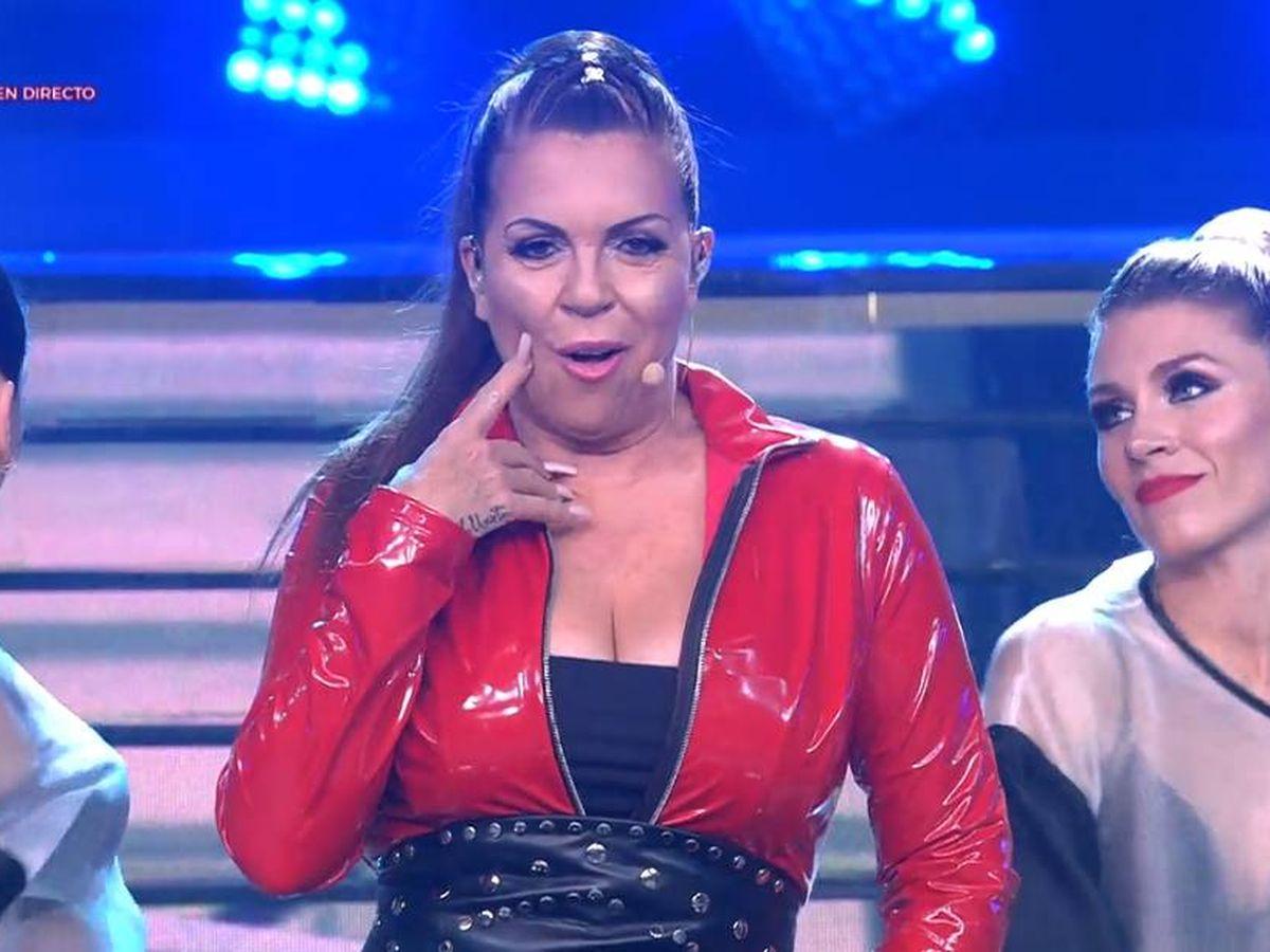 Foto: Belinda Washington, como Chabelita en 'Tu cara me suena'. (Antena 3)