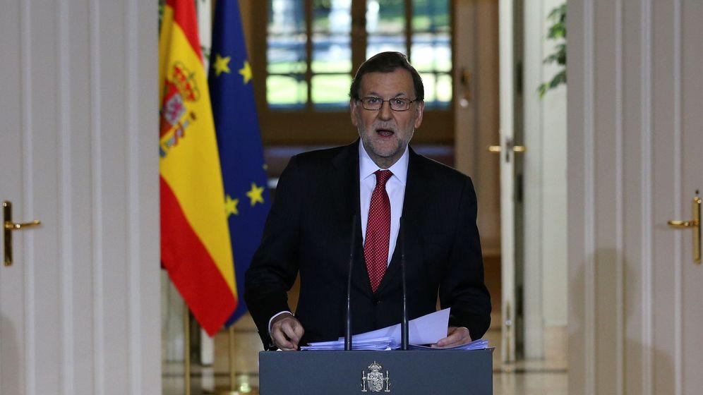 Foto: Mariano Rajoy, en la comparecencia posterior al último Consejo de Ministros. (Reuters)