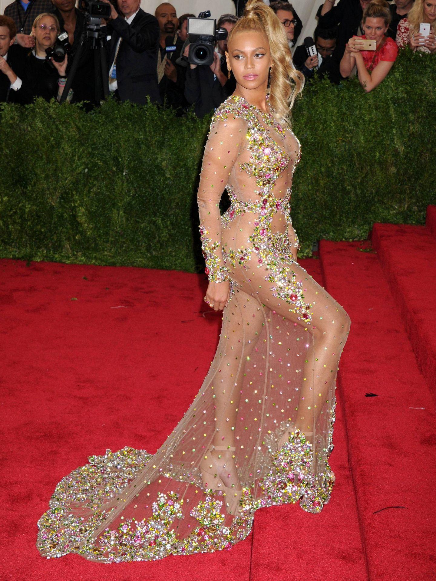 Beyoncé en la gala del MET.