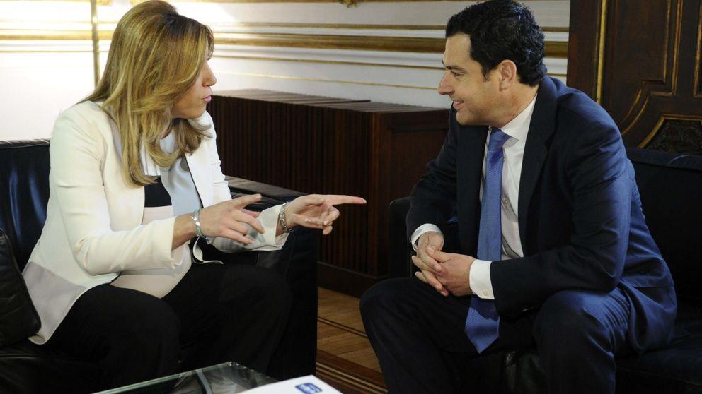Díaz se confía ahora a Rajoy tras el portazo de Ciudadanos y Podemos