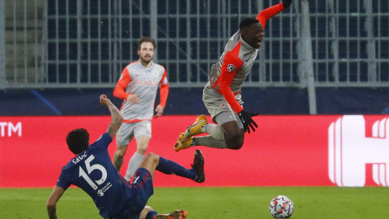 Dos jugadores del Salzburgo dieron positivo por dopaje justo antes de bailar al Atleti