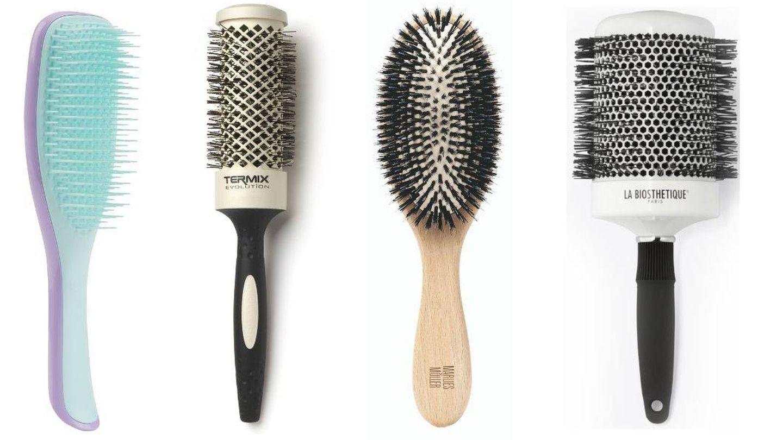 Cepillos de pelo antienredos.