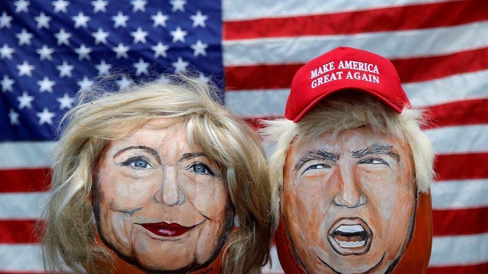 Clinton vs. Trump: susto o muerte