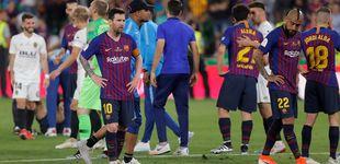 Post de Messi salvó a Valverde tras Anfield, pero la final de Copa vuelve a señalarlo