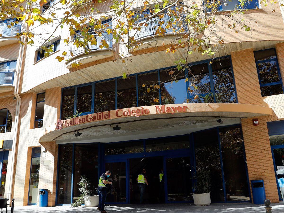Foto: Colegio Mayor Galileo Galilei, en Valencia, el pasado octubre (EFE)