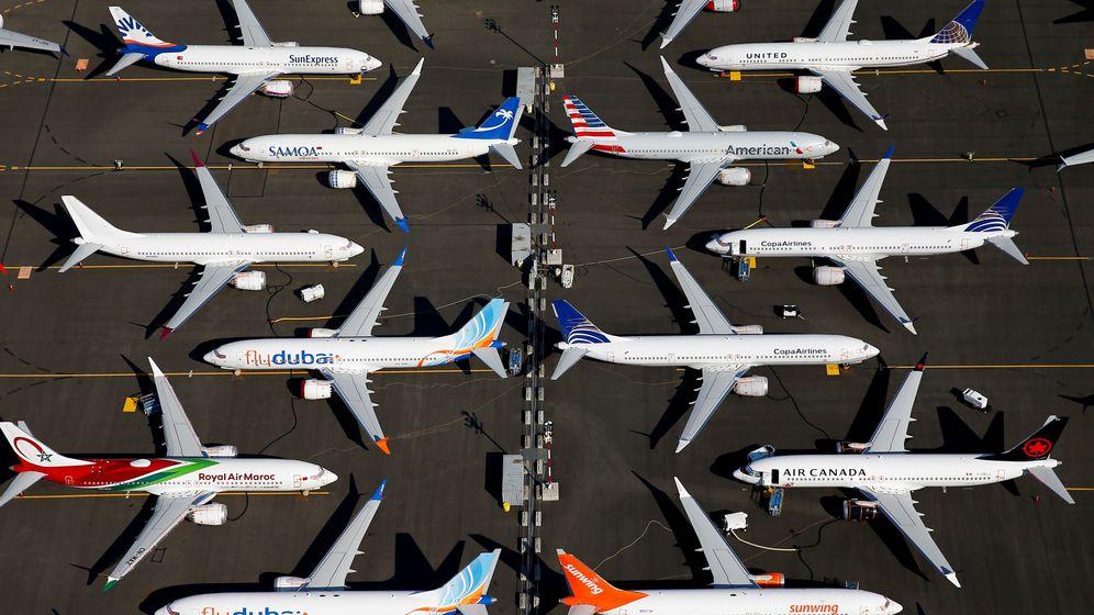 Foto: Aviones de Boeing. (Reuters)