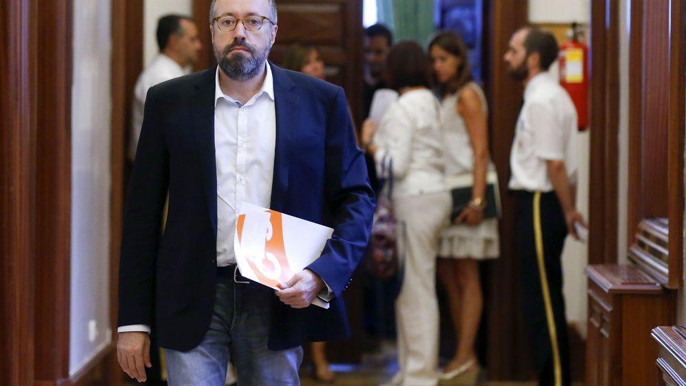 Foto: El portavoz parlamentario del Ciudadanos, Juan Carlos Girauta. (EFE)