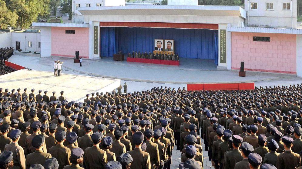 Foto: Reunión del comité central del Partido de los Trabajadores de Corea, en Pyongyang, en septiembre de 2017. (Reuters)