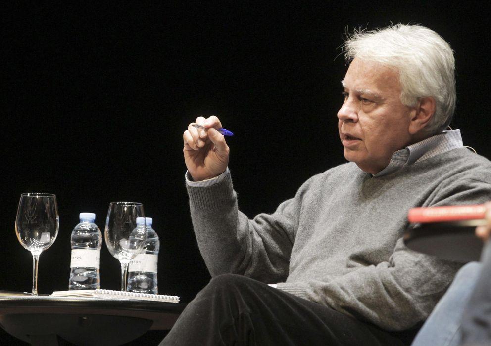 Foto: El expresidente del Gobierno, Felipe González (Efe)
