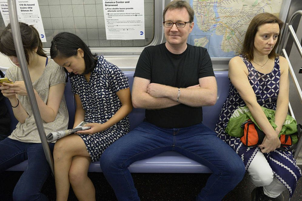 Foto: Un ejemplo de 'manspreading'. (iStock)