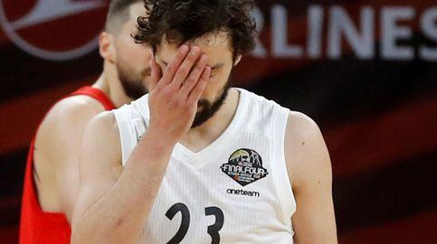 El momento más bajo de Sergio Llull tras la derrota del Real Madrid en la Final Four