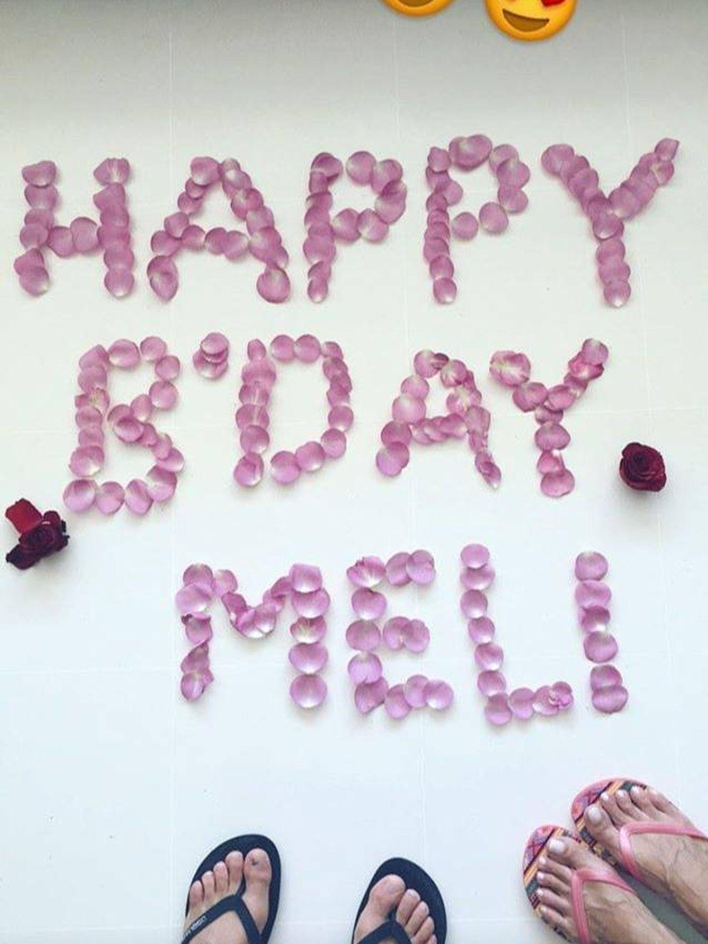 Cumpleaños Melissa Jiménez. (Redes)