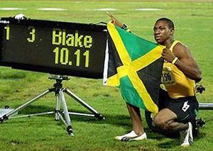 El velocista Yohan Blake, entre los cincos positivos jamaicanos