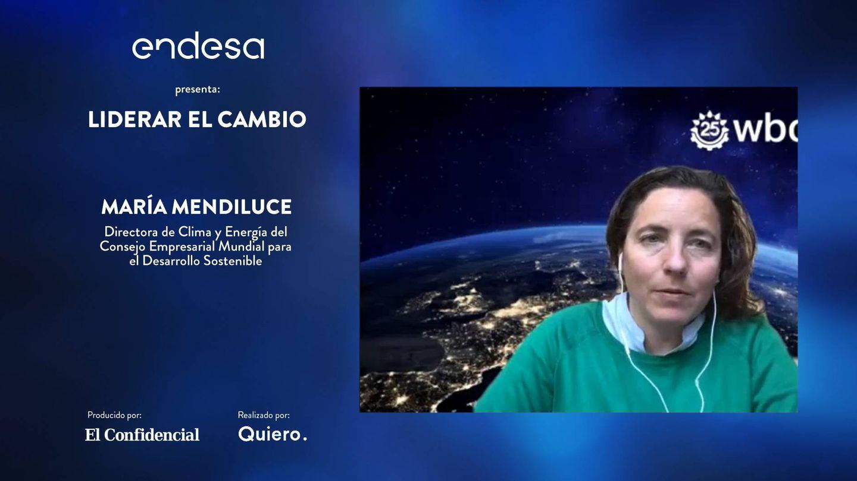 María Mendiluce, CEO de la coalición We Mean Business y 'managing director' del World Business Council for Sustainable Development (WBCSD).