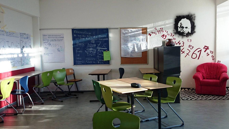 Foto: Una de las aulas del ESBC.