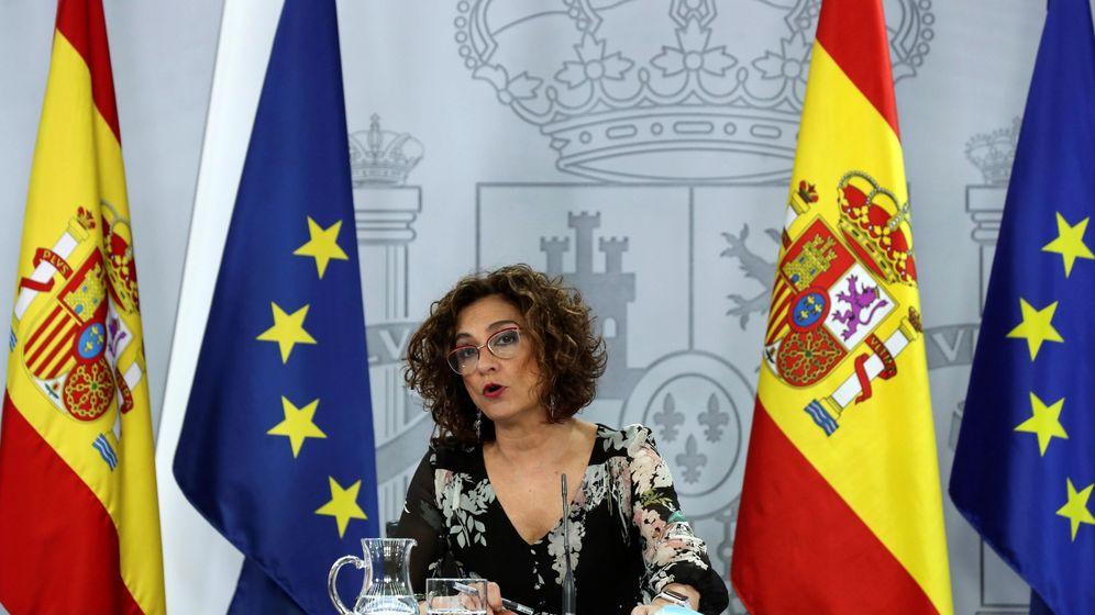 Foto: La ministra portavoz y de Hacienda, María Jesús Montero. (EFE)