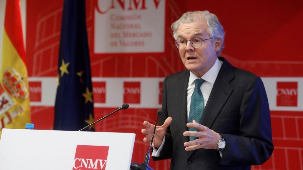Foto: El presidente de la Comisión Nacional del Mercado de Valores (CNMV), Sebastián Albella