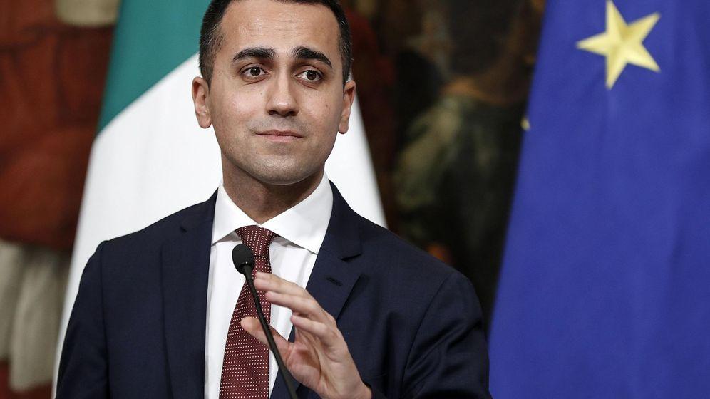 Foto: Luigi Di Maio durante una rueda de prensa el pasado 17 de enero de 2019. (EFE)