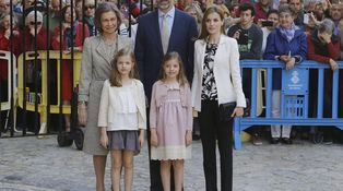 Domingo de Resurrección: de la minifalda de Leonor al clasicismo de Sofía