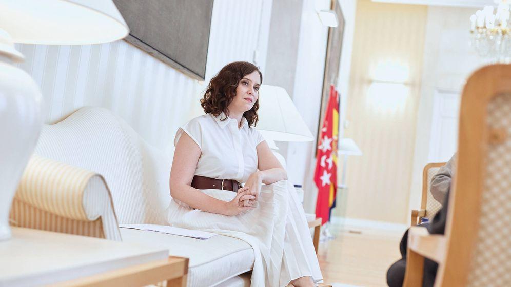 Foto: La presidenta de la Comunidad de Madrid, Isabel Díaz Ayuso. (Jorge Álvaro Manzano)